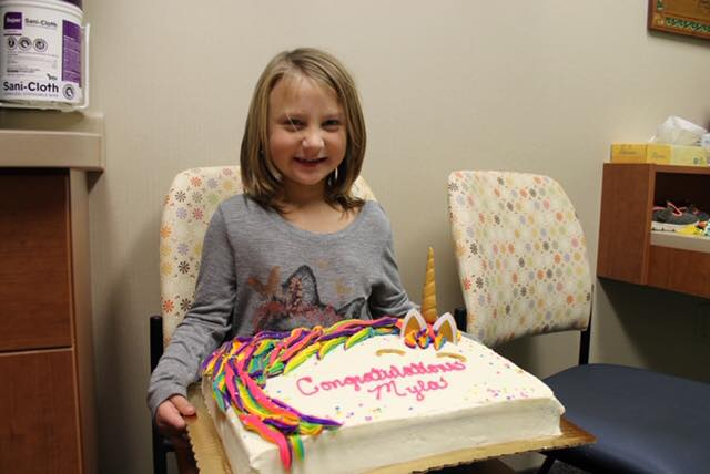 Girl-with-cake