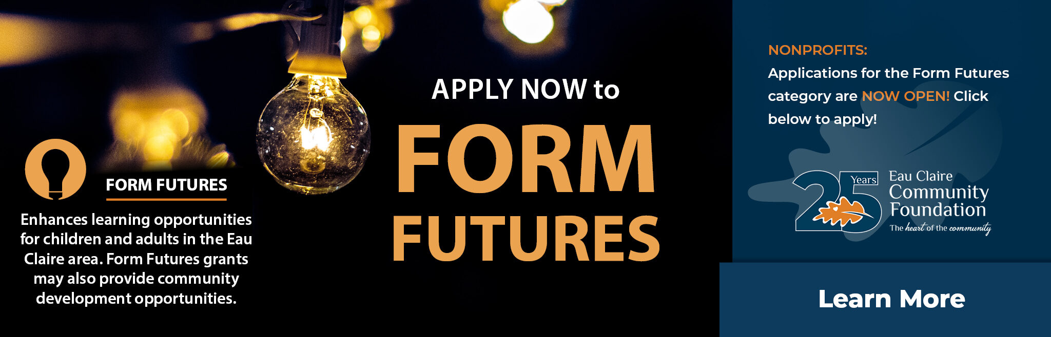 Apply now to Form Futures