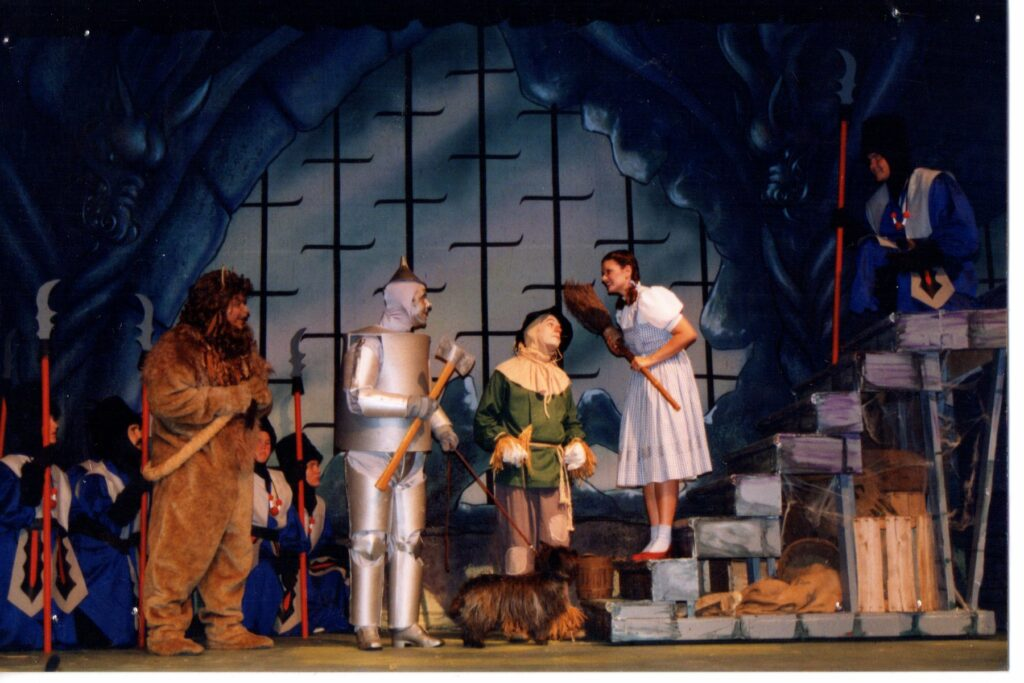 A performance of The Wizard of Oz